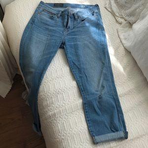J. Crew Cropped Reid Boyfriend-style Jeans